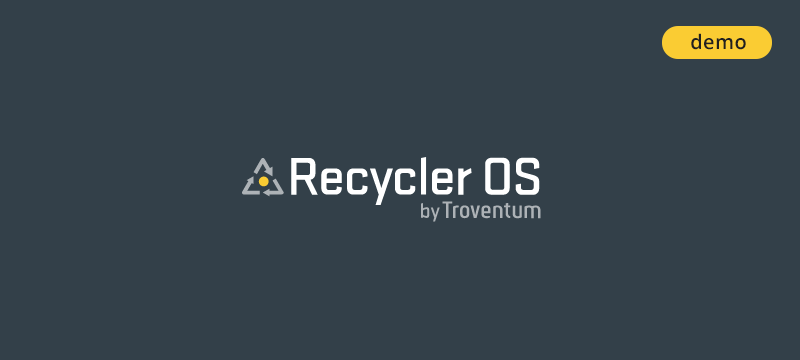Recycler OS Demo is available